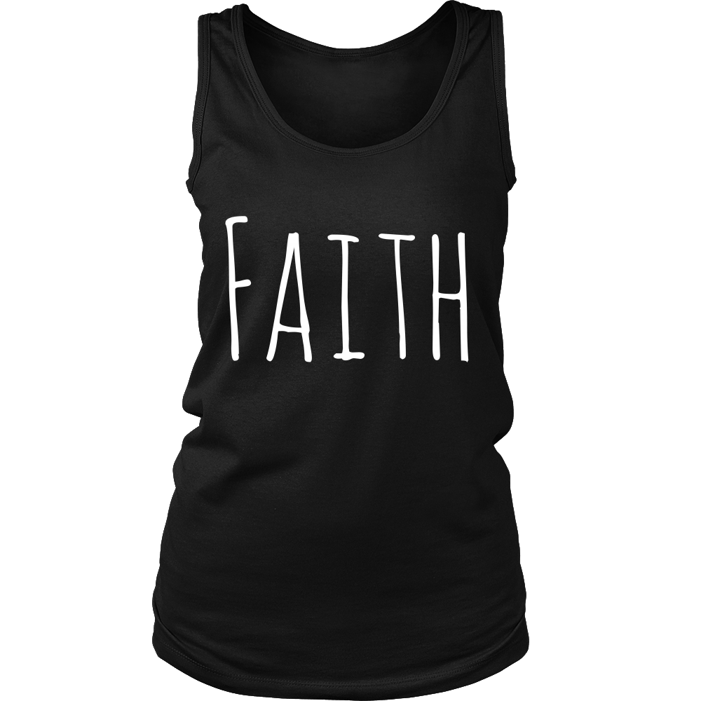 Faith Tank Top - Ladies Tank Tops For Sale | Pixiecove