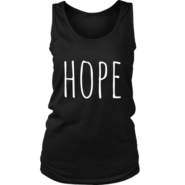 """Hope"" Tank Top - Pixie Cove"