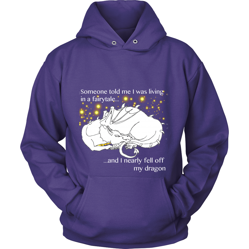 """FALLING OFF MY DRAGON"" Hoodie - Pixie Cove"