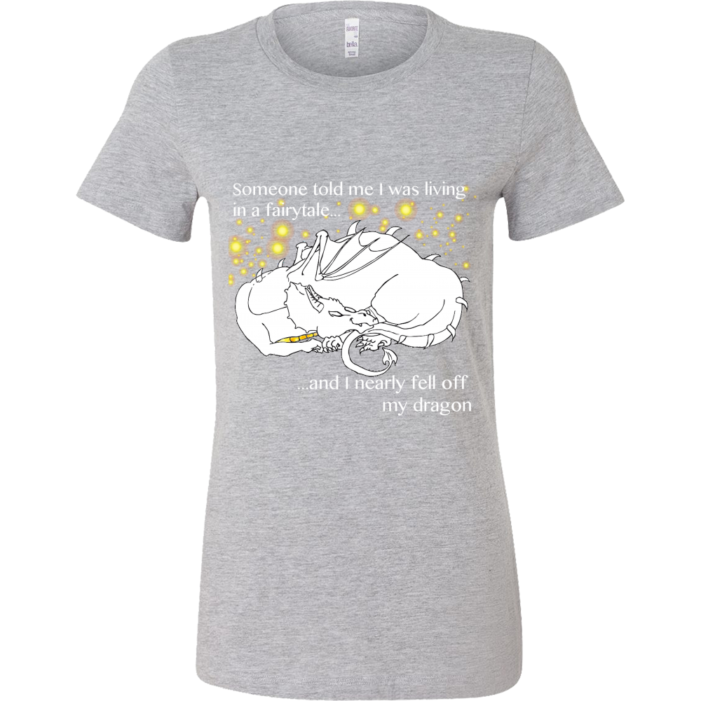 """Falling Off My Dragon"" T-Shirt - Pixie Cove"