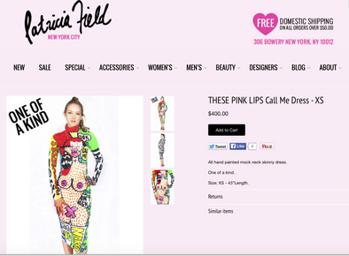 "THESEPINKLIPS NEW ""QUEEN BITCH"" Collection available at Patricia Field!"