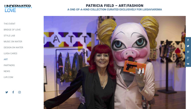 THESEPINKLIPS X PATRICIA FIELD ART FASHION X LUISAVIAROMA