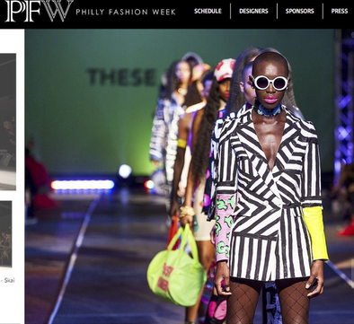 THESEPINKLIPS X PHILLY FASHION WEEK!
