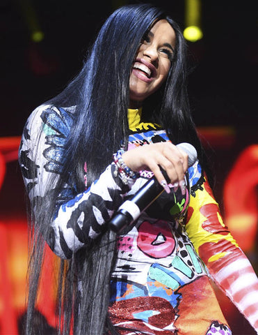 "Cardi B rocks ""THESEPINKLIPS"" at Streetfest ATL"