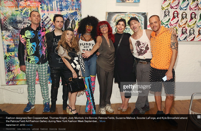 THESEPINKLIPS X PATRICIA FIELD ART FASHION X GETTY IMAGES!