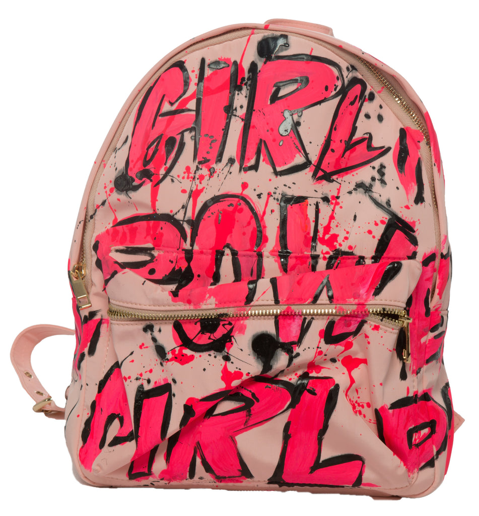 Girl power back pack!