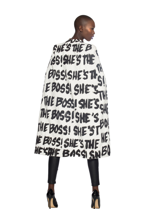 She's the Boss Cape