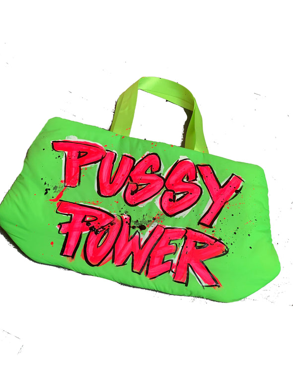 Pussy Power tote