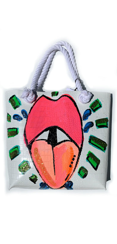 Tongue Kiss Tote
