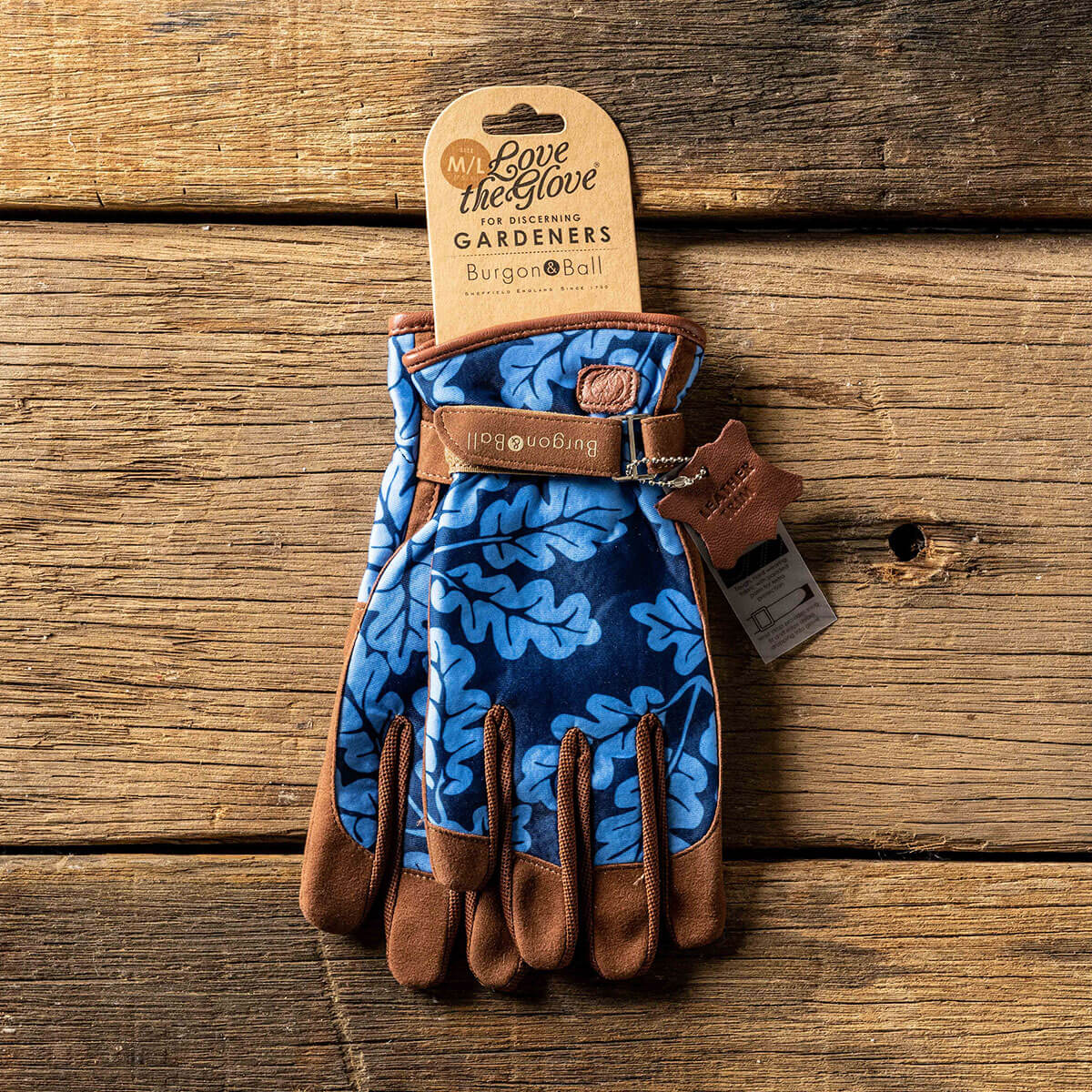 Burgon & Ball Tweed Gardening Gloves