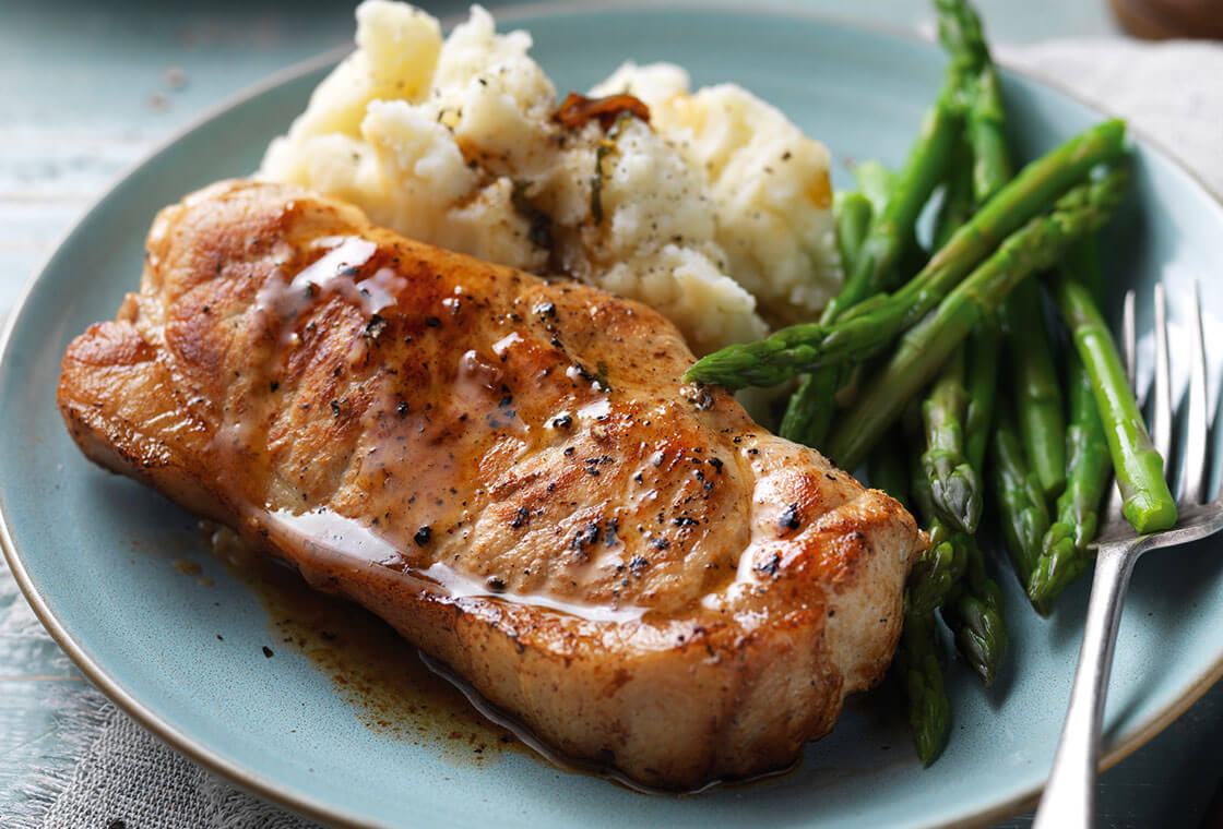 Pork Loin Steaks (220g x 4)
