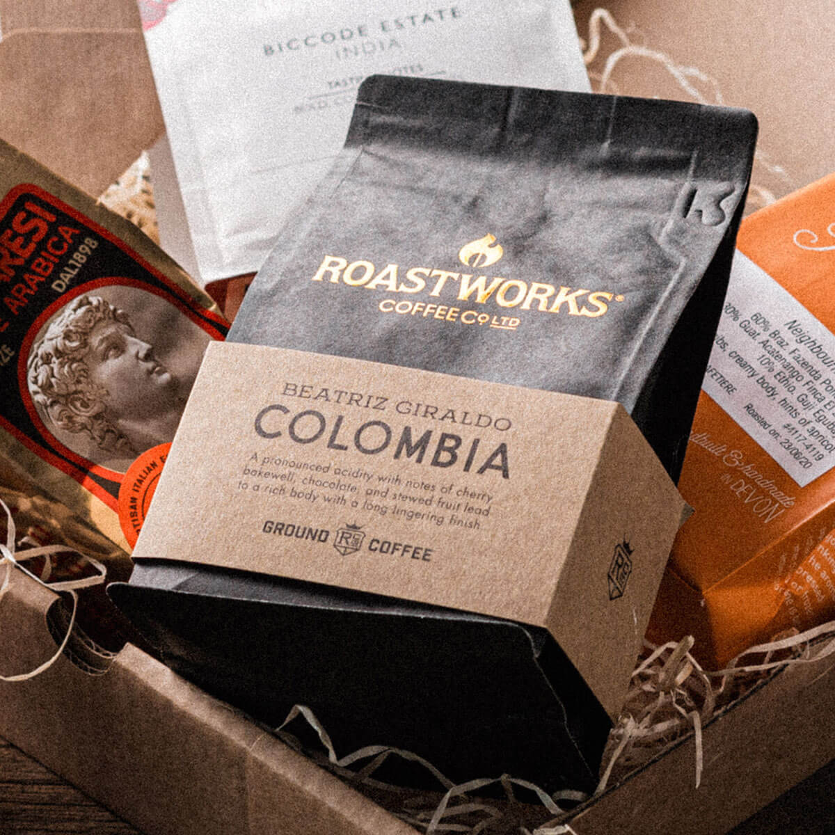 Roastworks Colombia Ground Coffee