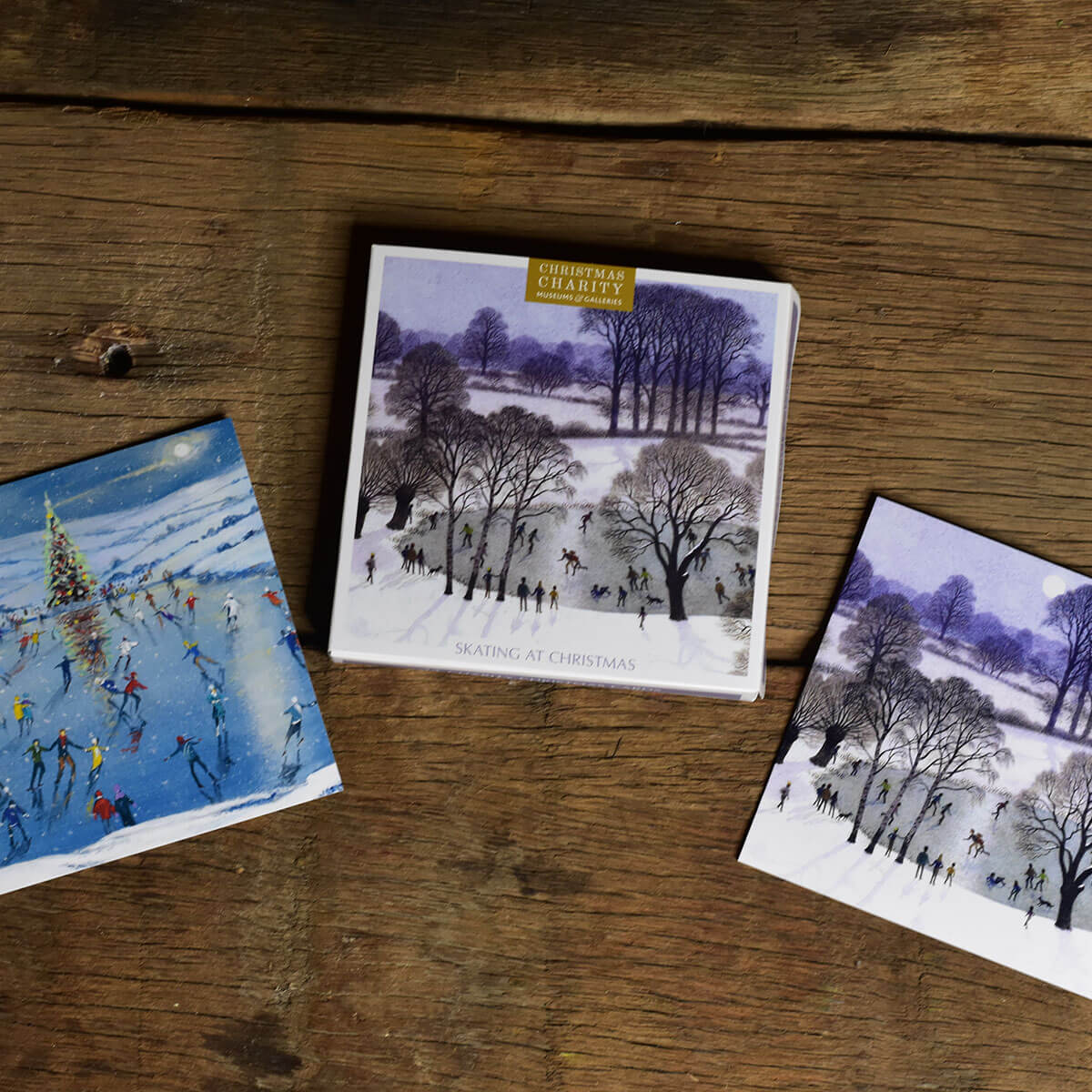 Museums & Galleries Festive Scene Christmas Cards