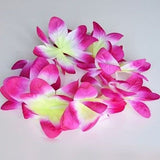 2 Hawaiian Orchid Crown Lei Flower Lei Pink Purple Red Orange Violet Luau