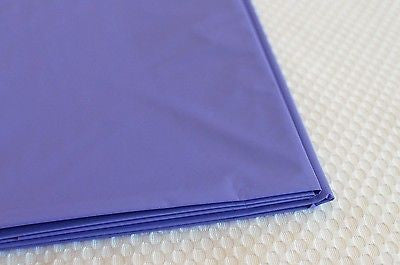 "Premium Plastic Purple Table Skirt 29"" x 14"" Reusable"