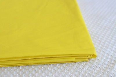 "Premium Plastic Yellow Table Skirt 29"" x 14"" Reusable- Le Petit Pain"