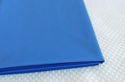 "Premium Plastic Royal Blue Table Skirt 29"" x 14"" Reusable- Le Petit Pain"
