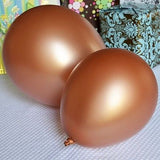 10 72 Premium Metallic Latex Balloons 12 inch Multiple Colors You Choose Glitter, Birthdays, Weddings, Baby Showers, Party