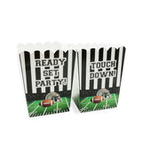 Football Season Party Appetizer Popcorn Boxes 20 Pack