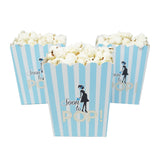 Soon To Pop Blue Baby Shower Popcorn Favor Box-Set of 20- Le Petit Pain