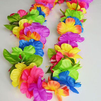 Paradise Mammbolei Rainbow Lei High Quality Lei Necklace Luau, Beach Party Decor