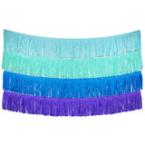 Mermaid Fringe Tassel Banners 8 Feet x 14 in