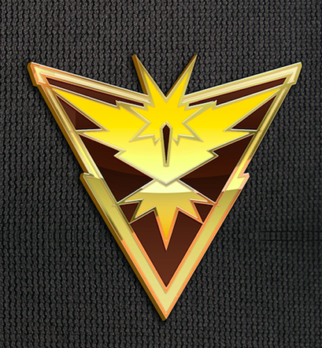 Team Instinct Pin for Backpacks Pokemon Go Leadership Lapel Clothes Pins- Le Petit Pain