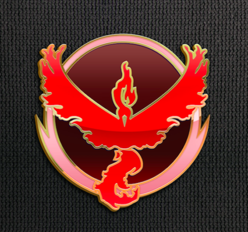 Team Valor Pin for Backpacks Pokemon Go Leadership Lapel Clothes Pins- Le Petit Pain