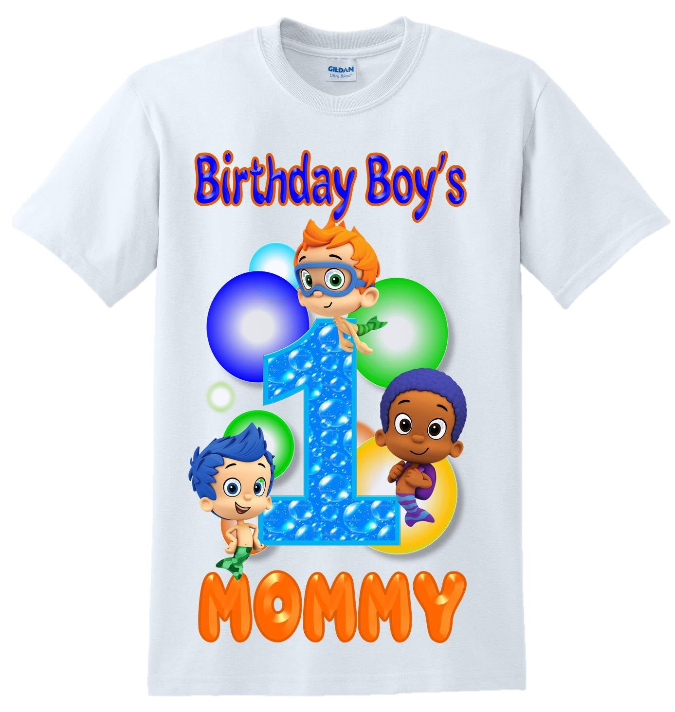 Bubble Guppies Shirt Bubble Guppies Birthday Bubble Guppies Party supplies