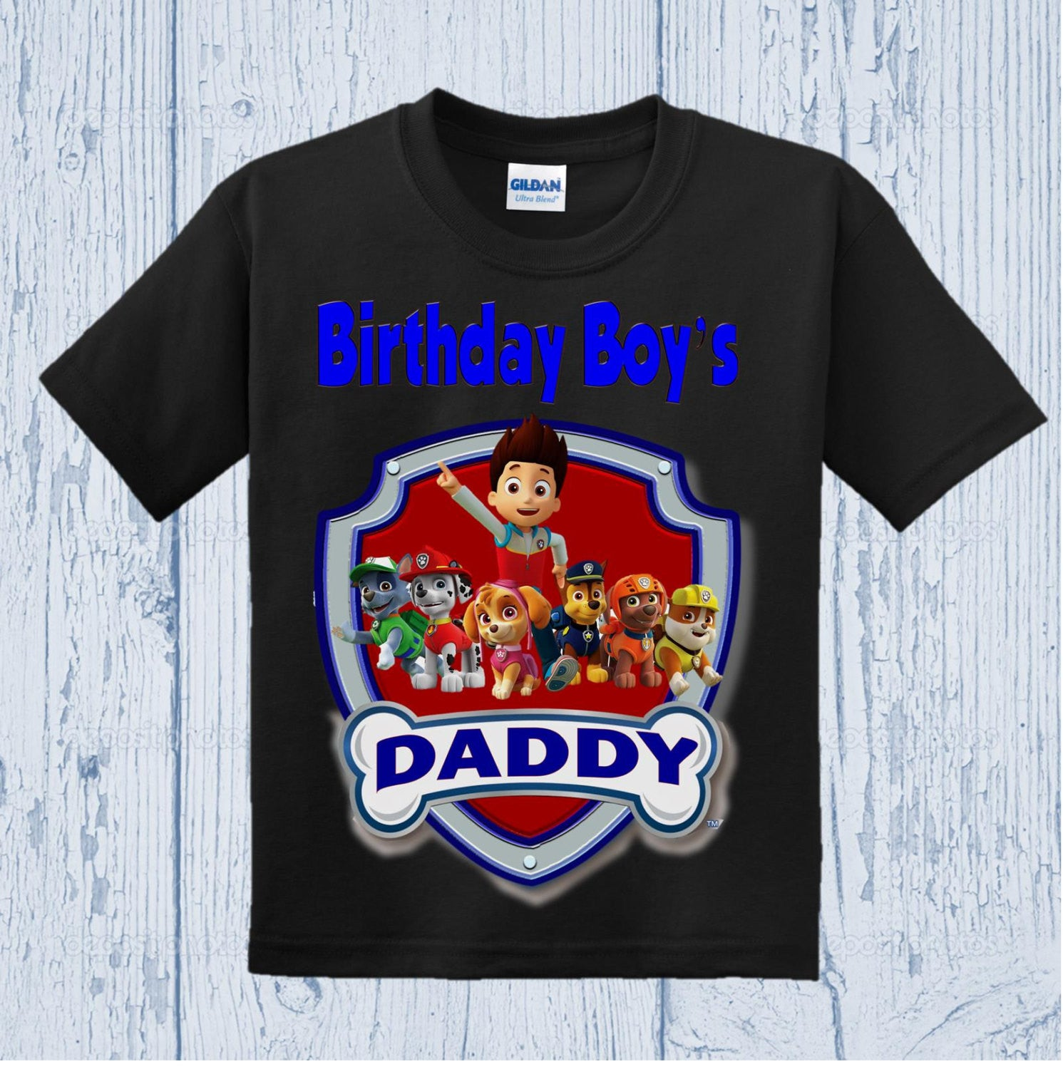 Paw Patrol Birthday Dad Shirt