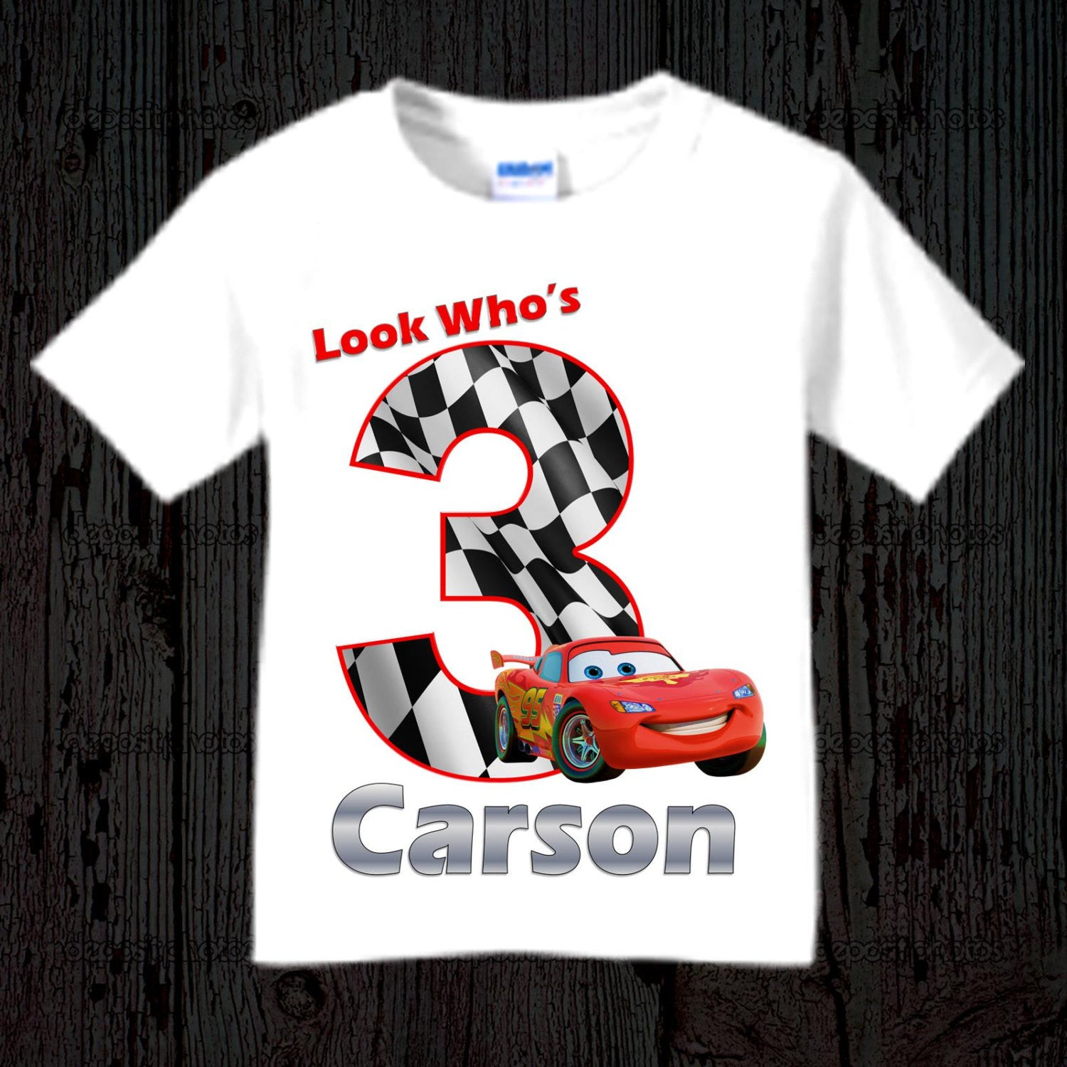 Disney Cars Birthday Shirt