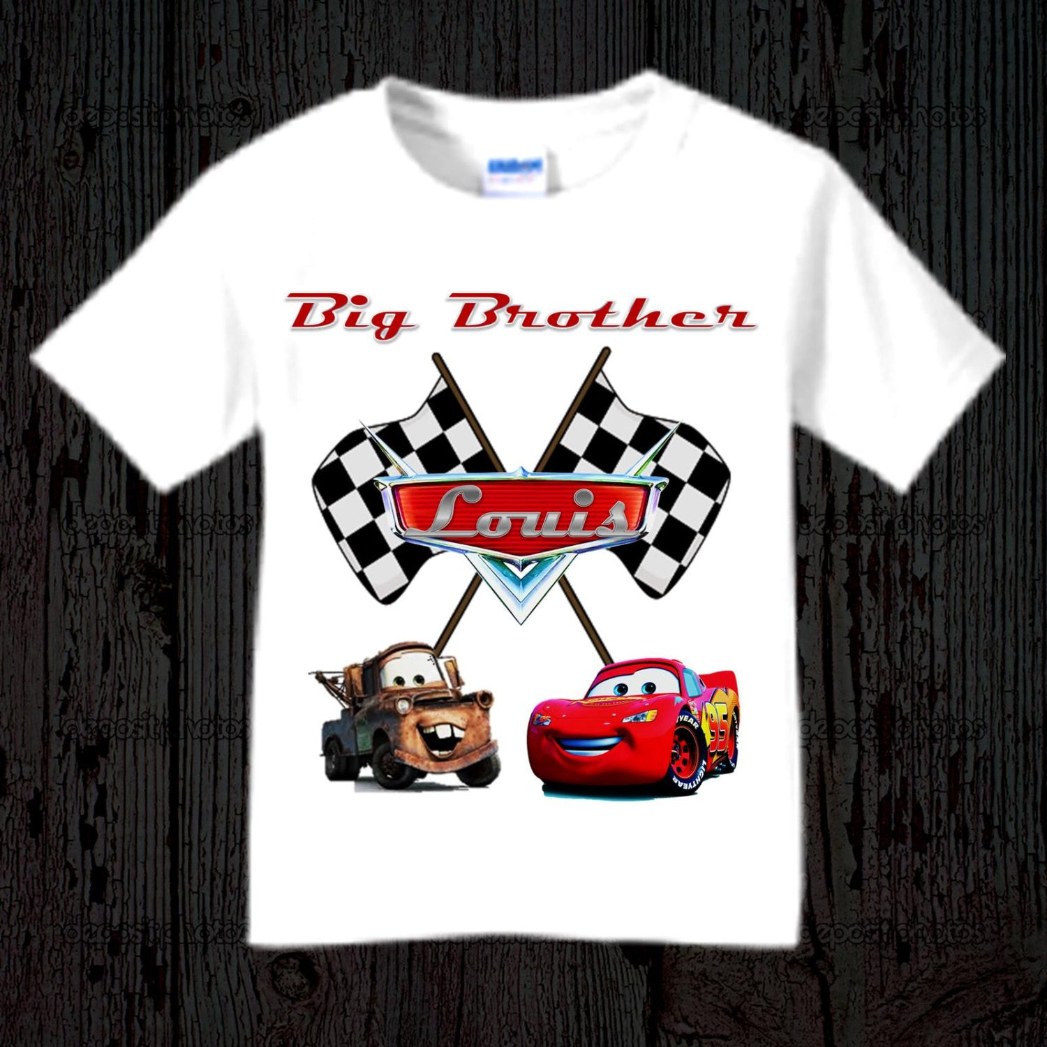 Disney Cars Birthday Boy Shirt