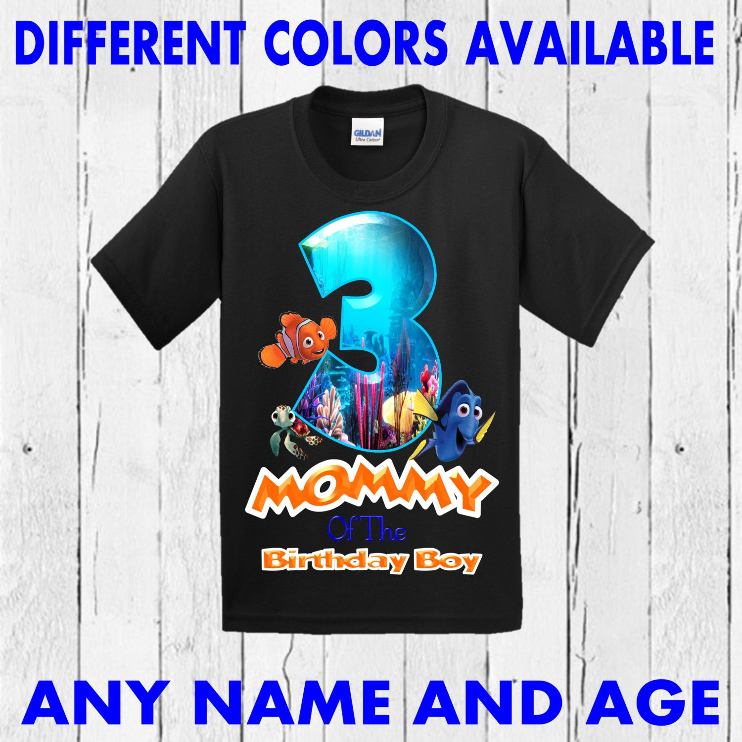 Finding Dory Brother Shirt Sister Mom