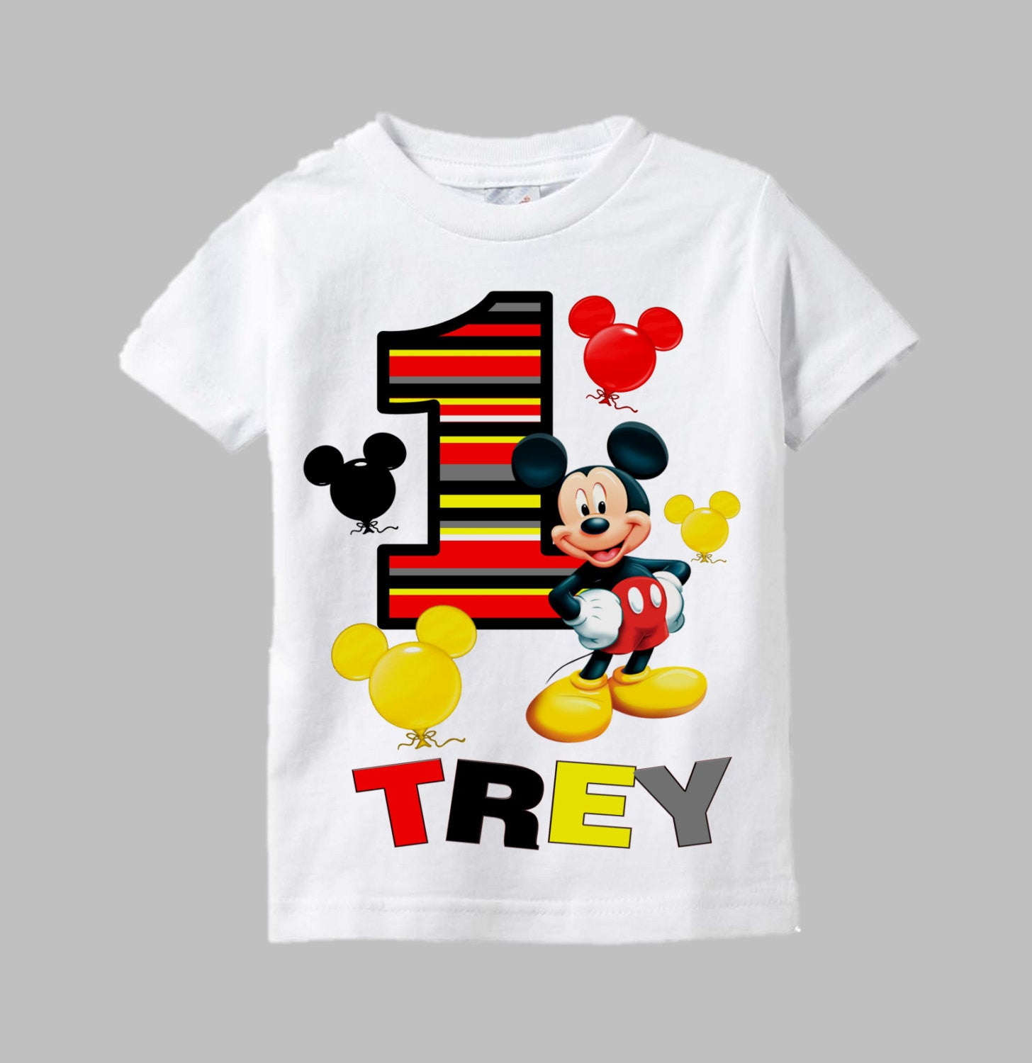 Mickey Mouse Birthday Boy Shirt