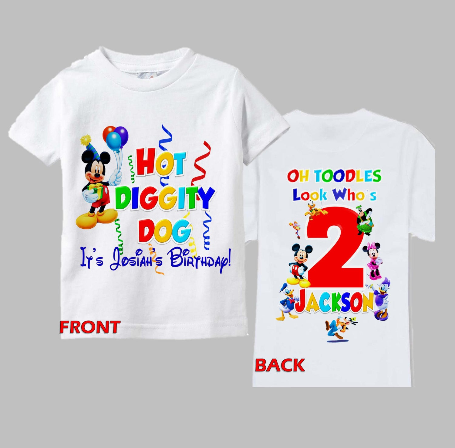 Mickey Mouse Clubhouse Mom Birthday Shirt