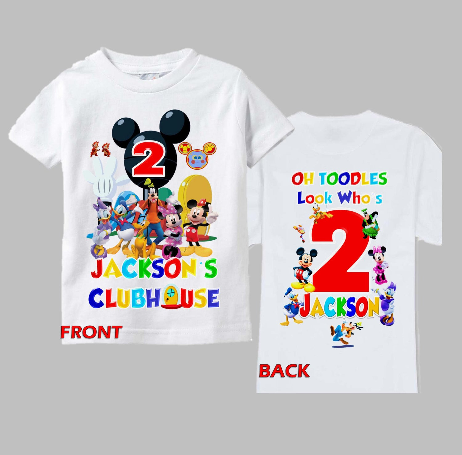 Mickey Mouse Birthday Shirt Outfit