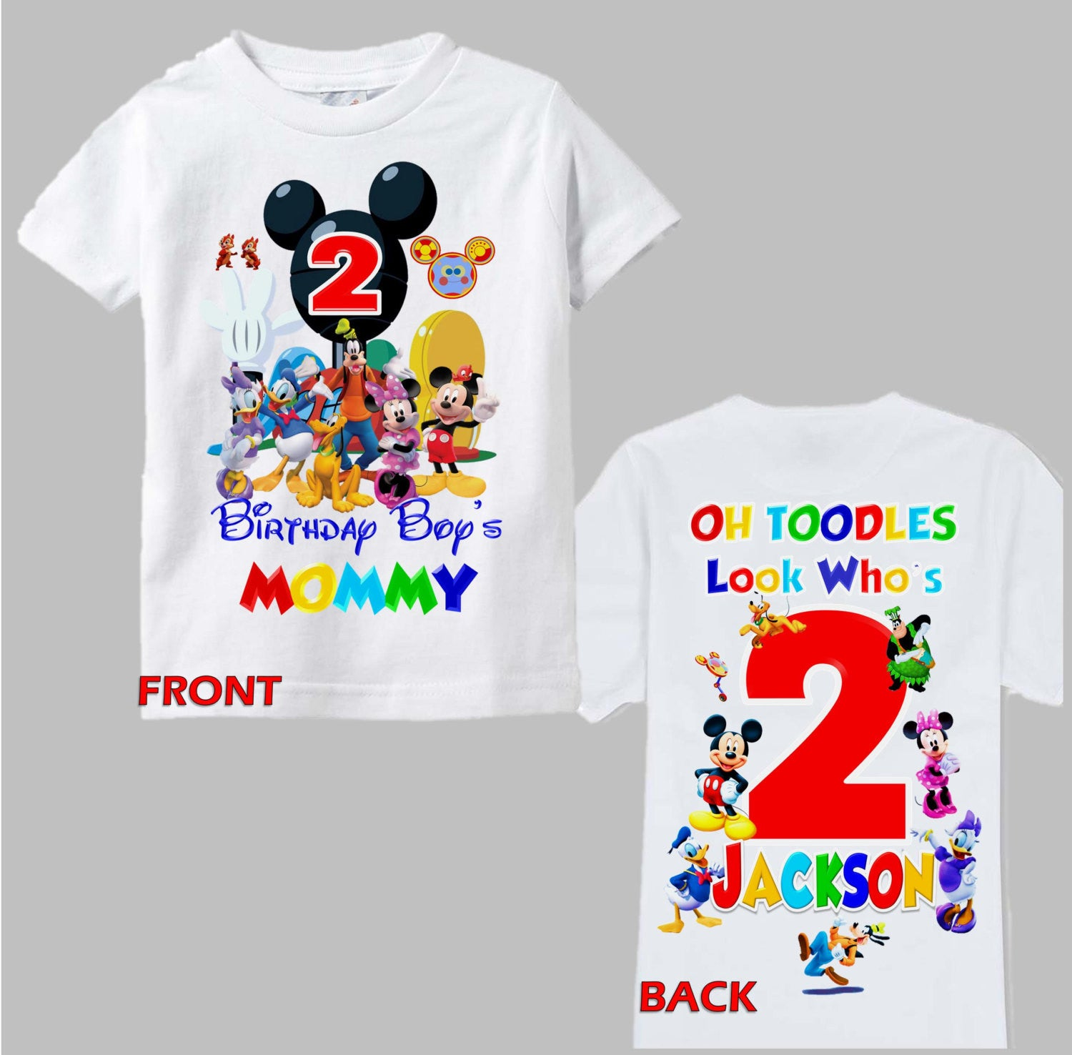 Mickey Mouse Birthday Mom Shirt Minnie
