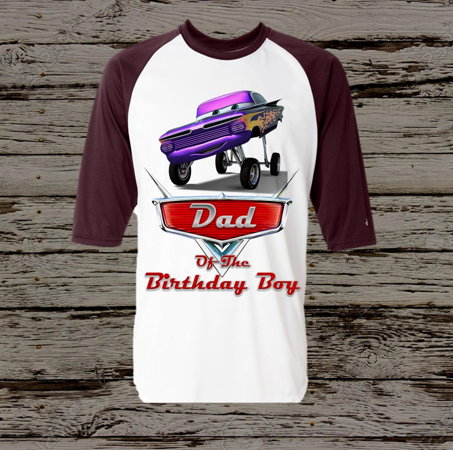 Disney Cars Dad Shirt