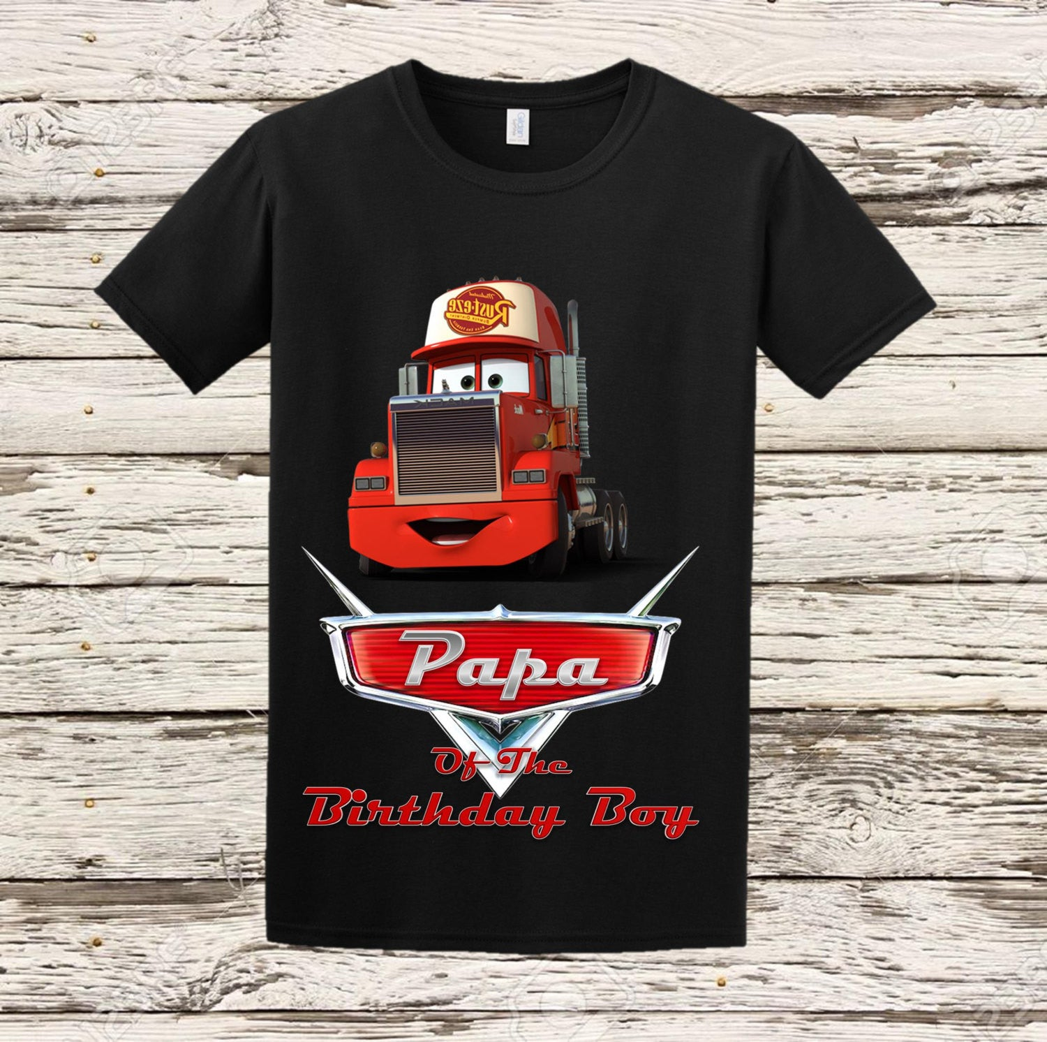 Disney Cars Papa Shirt