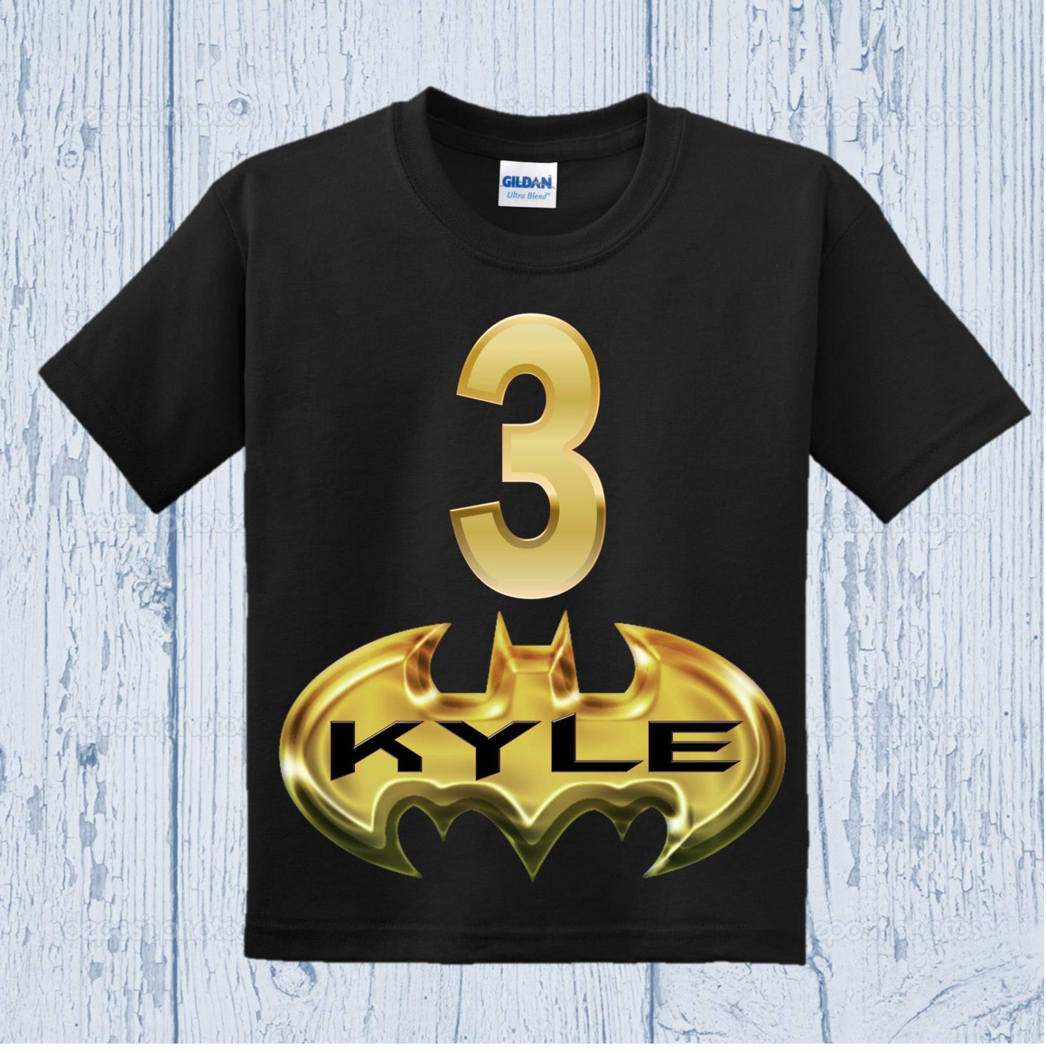 Personalized Boy Birthday Shirts