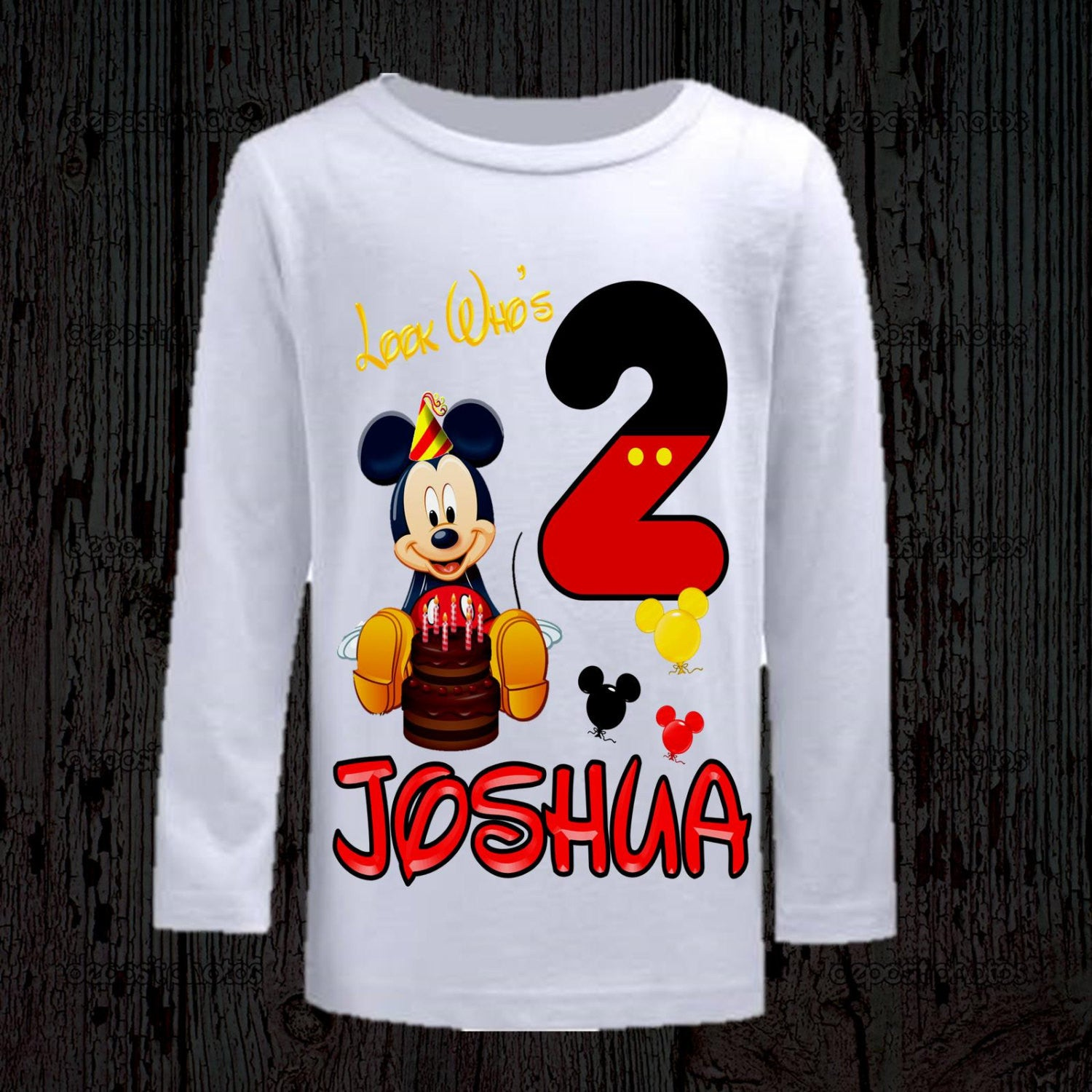 Mickey Mouse Birthday T Shirts