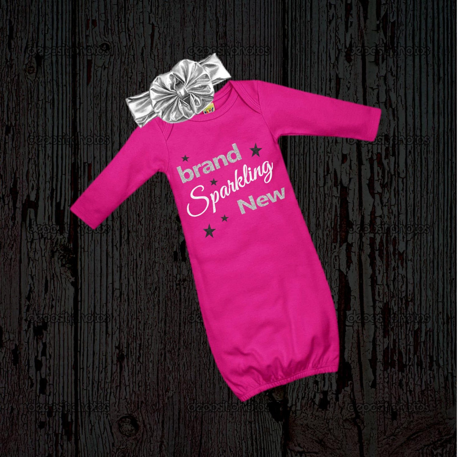 Girl s Newborn Outfit New Baby Gift Infant Gown Layette Set