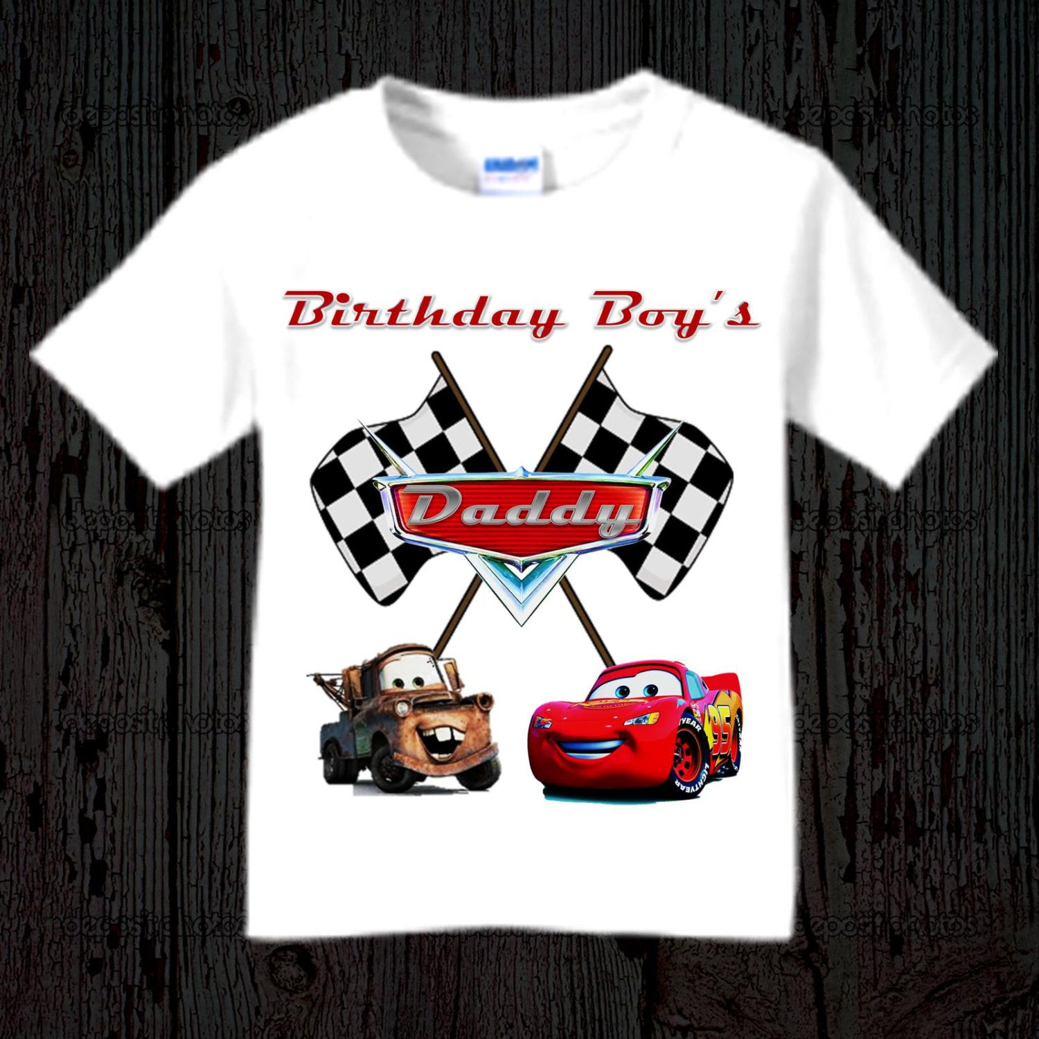 Cars Birthday Shirt