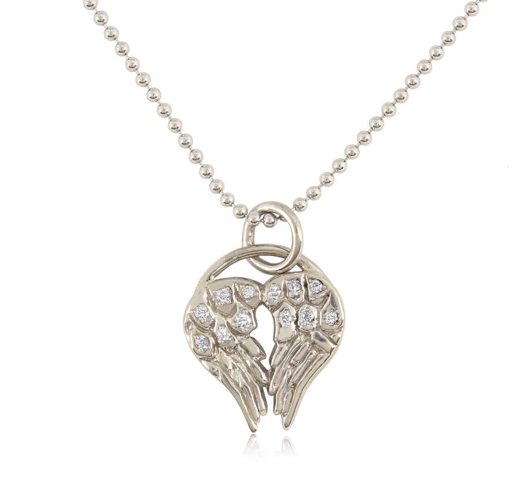 HeartWing Diamond Necklace