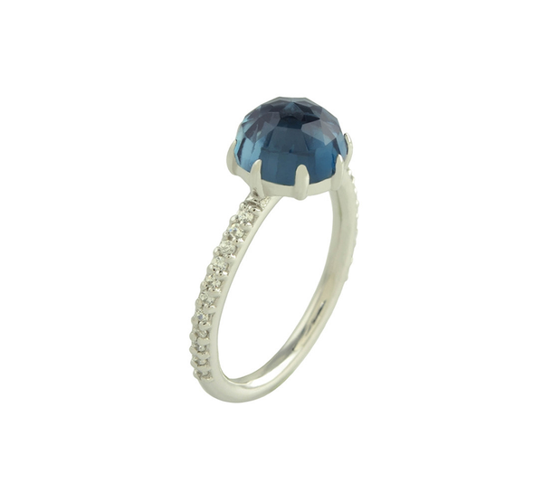 Rosina London Blue Topaz Ring