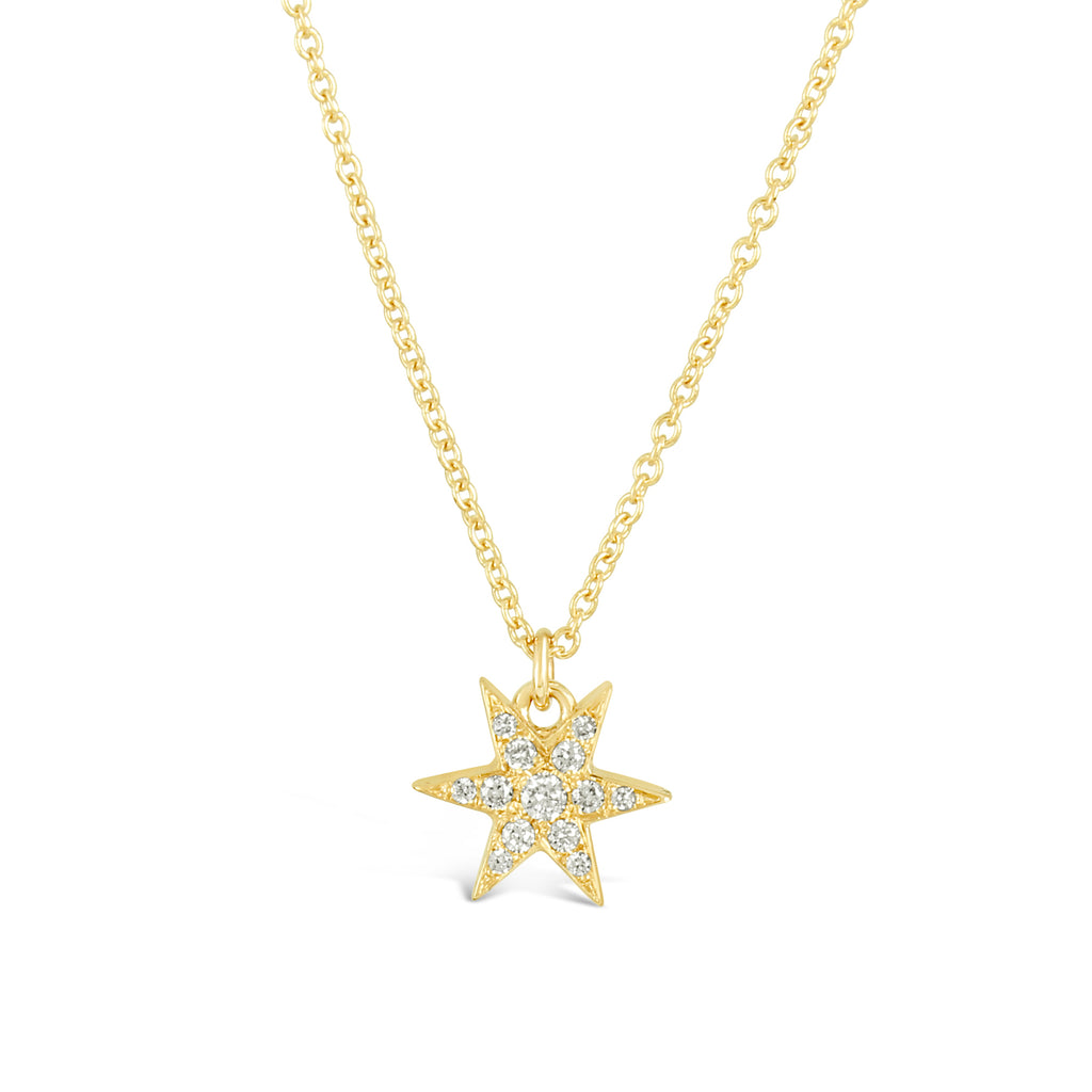 Star Solitaire Necklace