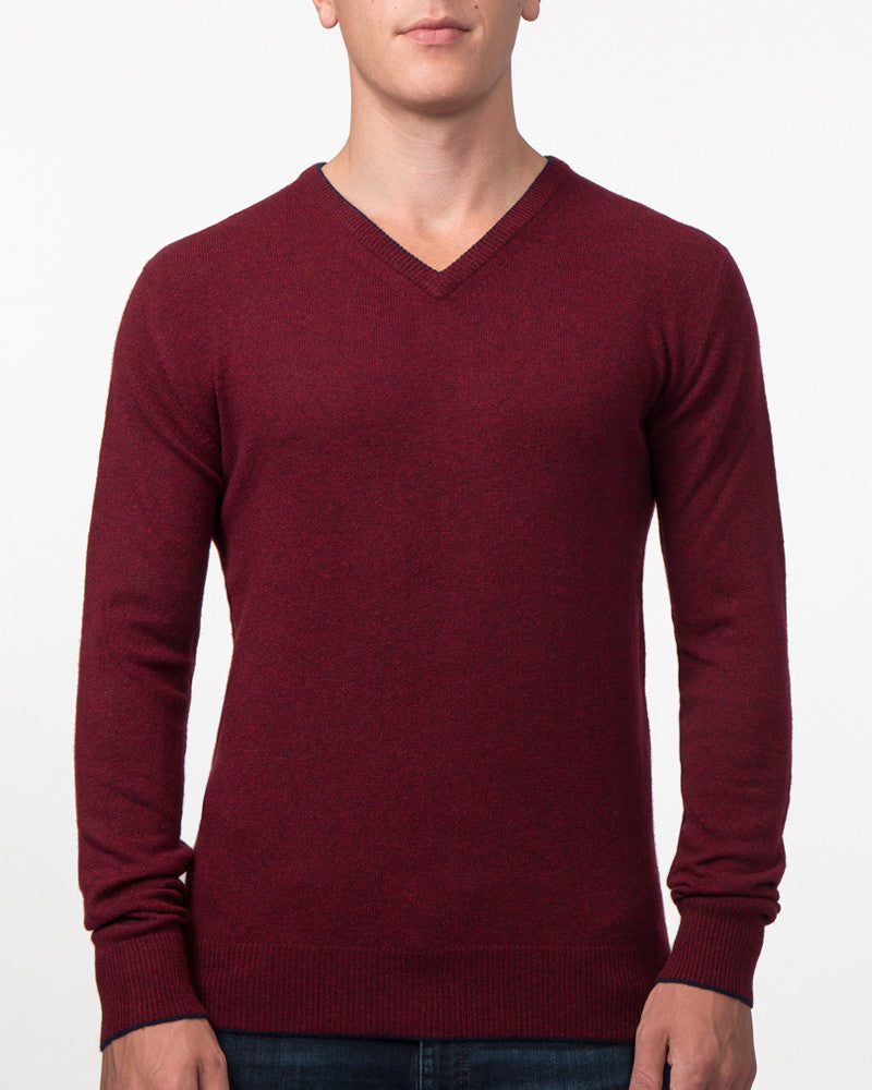 The Tipped V-Neck