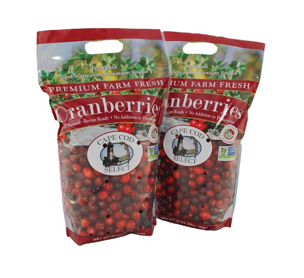 4 lbs. Premium Fresh Cranberries