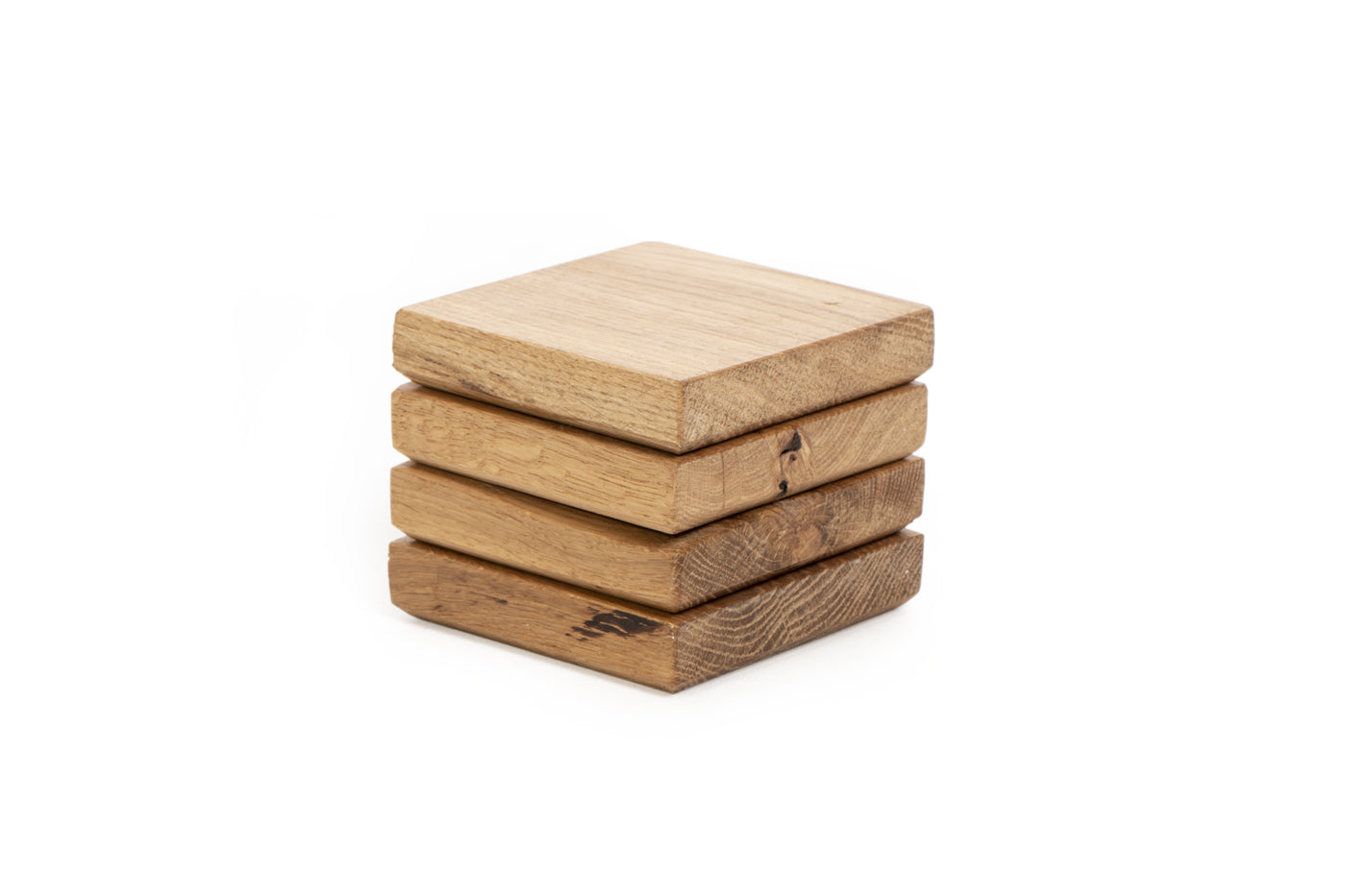 Reclaimed Oak Coasters