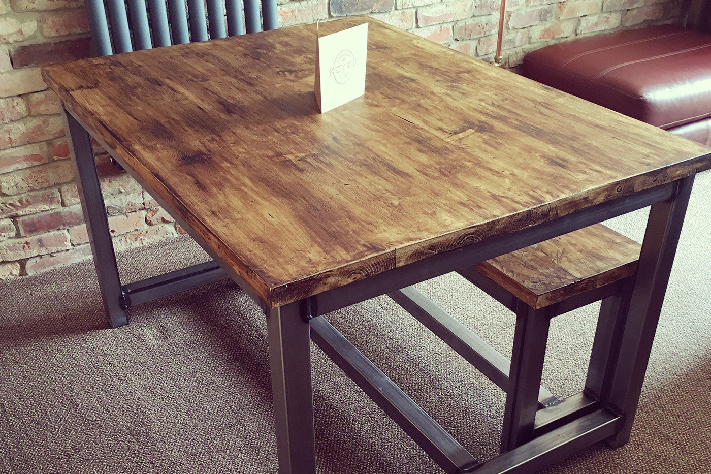 Handmade Industrial Dining Table Newcastle Upon Tyne